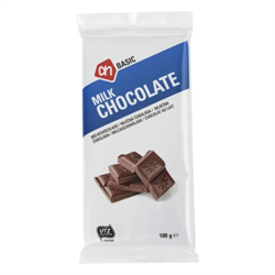 zz A.H. BASIC  Chocolate Bar - Milk ( Melkchocolade Reep ) 100g