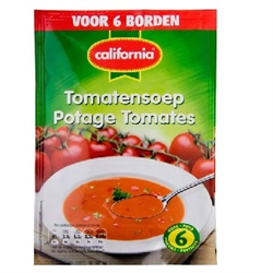 CALIFORNIA Tomato Soup Mix ( Tomaten Soep ) 49g