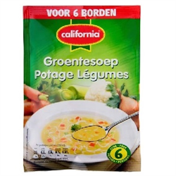 CALIFORNIA Vegetable Soup Mix ( Groente ) 62g