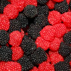 DONKERS Raspberry & Blackberry Sweet Candy ( Frambozen en Bramen ) 1kg