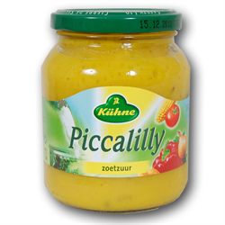KUHNE Relish ( Piccalilly zoetzuur ) 360g Jar