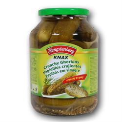 HENGSTENBERG KNAX Crunchy Gherkins ( Augurken ) 1.5L Jar