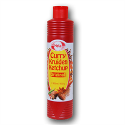 HELA Curry Spice Ketchup Original ( Curry Kruiden Ketchup Original ) 800ml