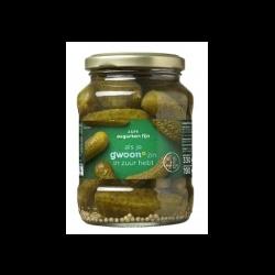 GWOON Pickles Sweet / Sour ( Zoetzuur ) Jar 370g