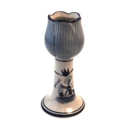 DELFT BLUE Candle Holder - Tulip shape