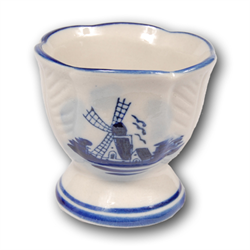 DELFT BLUE Egg Cup Scalloped
