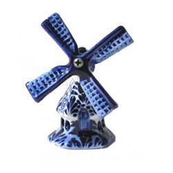 DELFT BLUE Windmill HEX 8cm