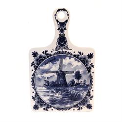 CHEESE BOARD Ceramic Delft Blue in Box