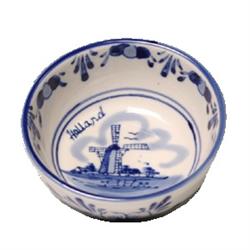 DELFT BLUE Bowl/Dish - Mill Round - 8x4 cm