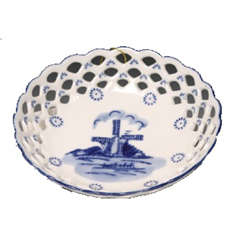 DELFT BLUE Bowl/Dish Round - Mill 13c