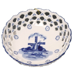 DELFT BLUE Bowl/Dish Round - Mill 18c