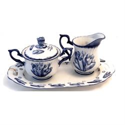 DELFT BLUE Cream & Sugar Set - Tulip