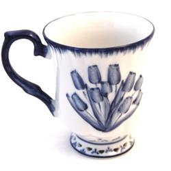 DELFT BLUE Cup - Tulip 8.5cm