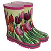 Boots Rubber Tulip Design