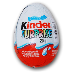 FERRERO Kinder Surprise Eggs   1 Case = 24 Pieces