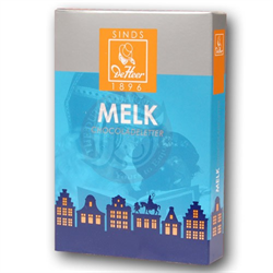 DEHEER CHOCOLATE LETTER MILK 'D' 65 gr
